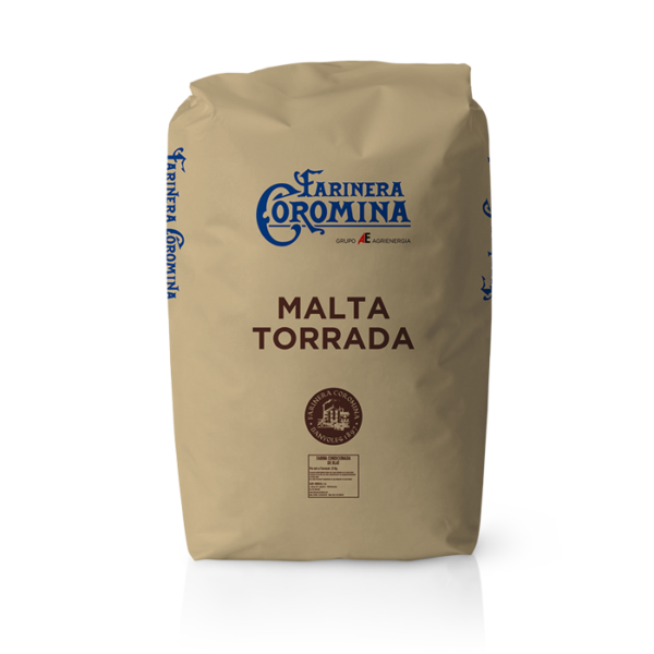 Farinera Coromina, farines d'altres cereals, farina de Malta Torrada