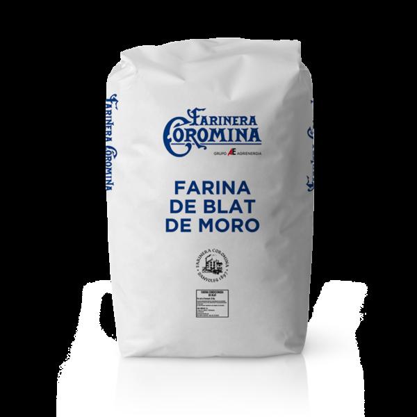 Farinera Coromina, farines d'altres cereals, farina de blat de moro
