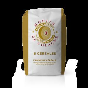 Farinera Coromina, farines altres cereals a la pedra, farina 6 Céréales