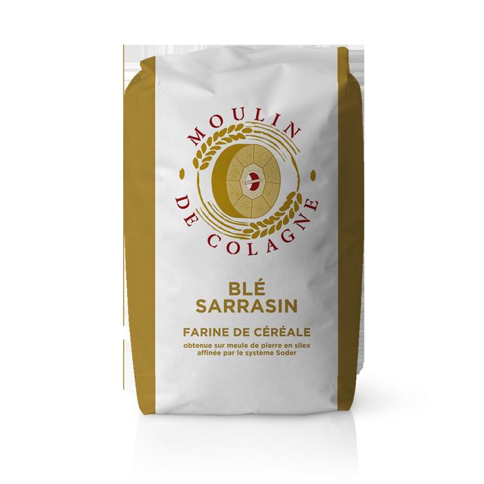 Farinera Coromina, farines altres cereals a la pedra, farina Blé Sarrasin