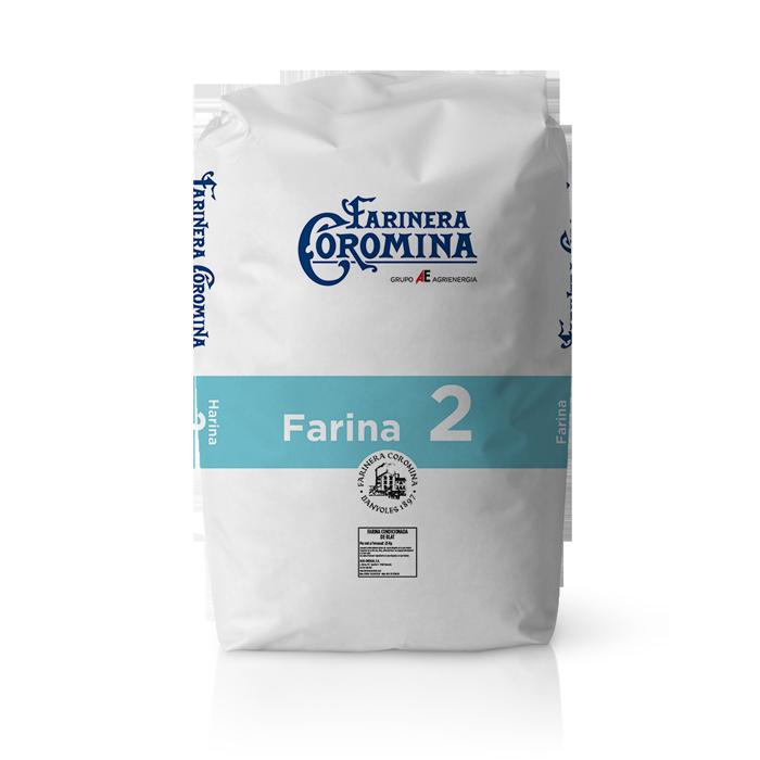 Farinera Coromina, farines de la gamma farina de mitja força, farina 2