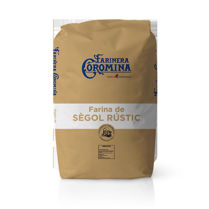 Farinera Coromina, farines de la gamma de sègol, farina de sègol rústic