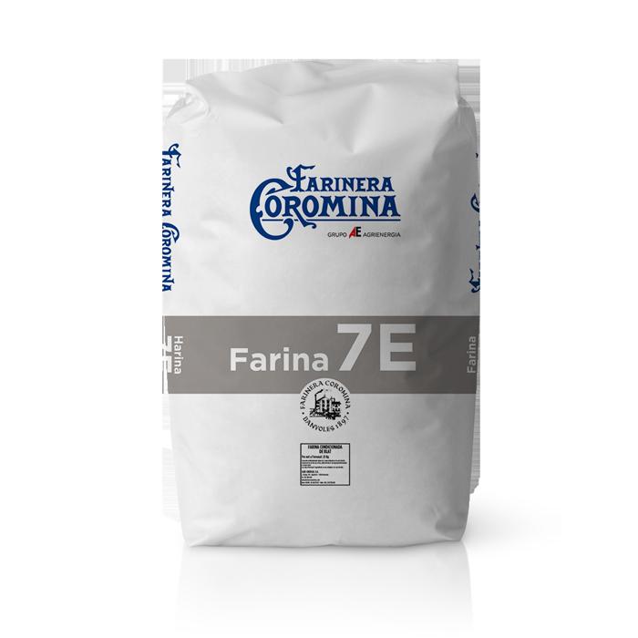 Farinera Coromina, farines de la gamma farines fluixes, farina 7E