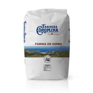 Farinera Coromina, farines de la gamma farines integrals, farina de Sopes