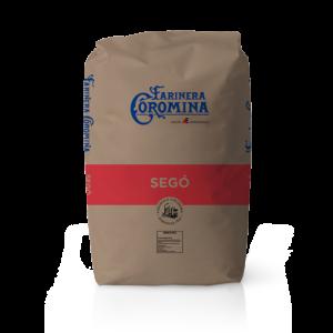 Farinera Coromina, farines de la gamma farines integrals, farina Segó