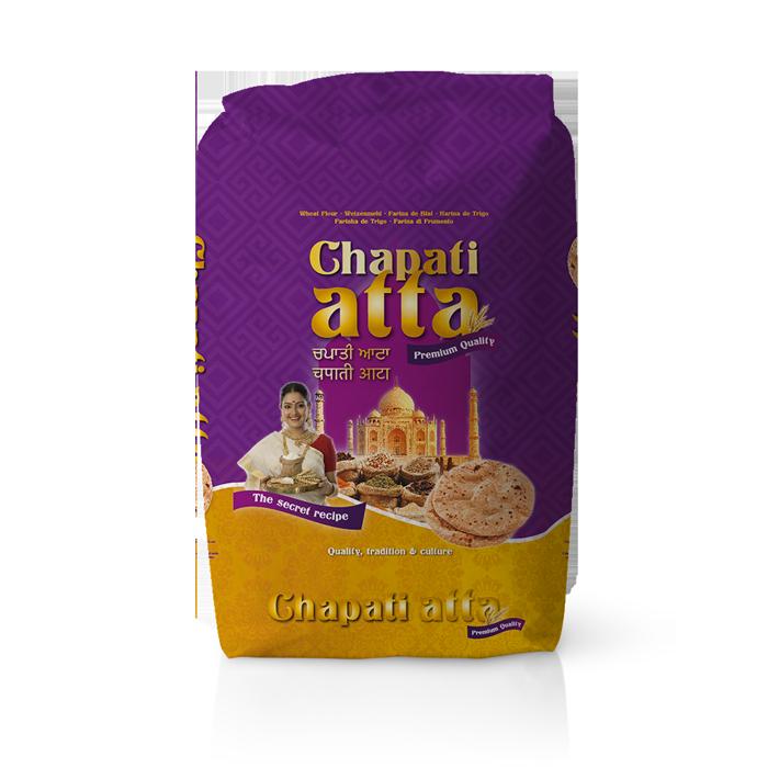 Farinera Coromina, farines de la gamma locals, farina Chapati Atta