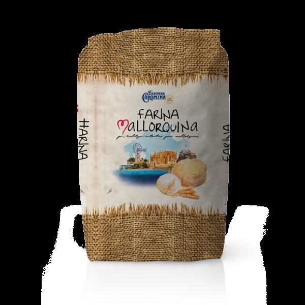 Farinera Coromina, farines de la gamma locals, farina Mallorquina per realitzar autèntics pans mallorquins