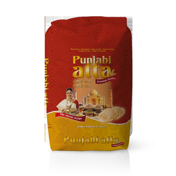 Farinera Coromina, farines de la gamma locals, farina Punjabi Atta