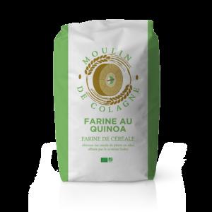 Farinera Coromina, farines ecològiques d'altres cereals a la pedra, farina Quinoa