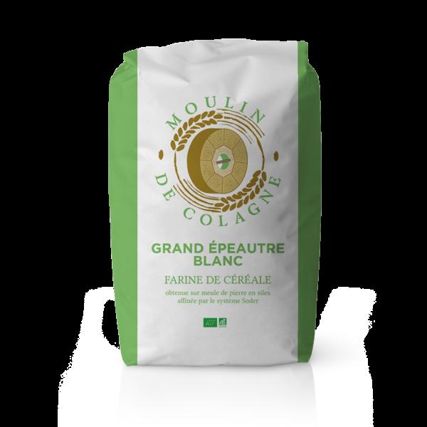 Farinera Coromina, farines ecològiques d'altres cereals a la pedra, farina Grand Epeautre Blanc