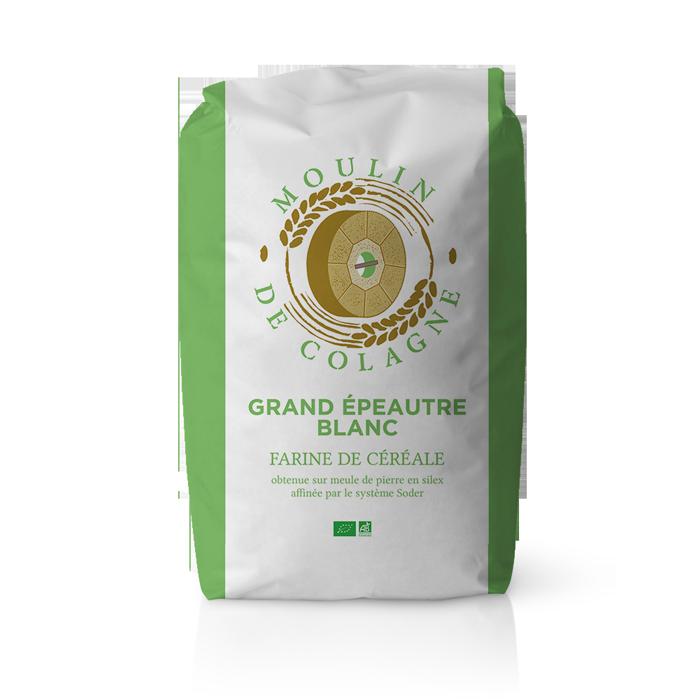Farinera Coromina, harinas ecológicas de otros cereales a la piedra, harina Grand Epeautre Blanc