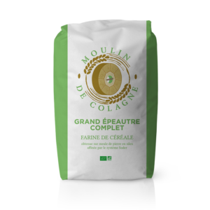 Farinera Coromina, farines ecològiques d'altres cereals a la pedra, farina Grand Epeautre Complet