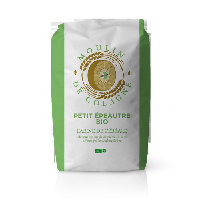 Farinera Coromina, farines ecològiques d'altres cereals a la pedra, farina Petit Epeautre