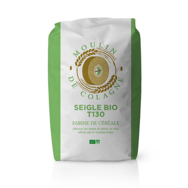 Farinera Coromina, farines ecològiques d'altres cereals a la pedra, farina Seigle BIO T130