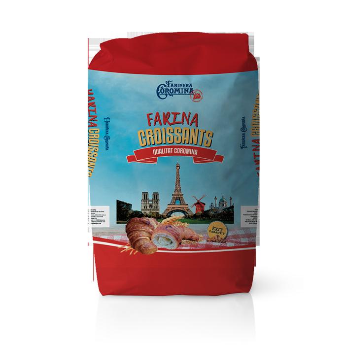 Farinera Coromina, farines de la gamma Can Trull, farina croissants