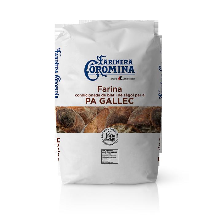 Farinera Coromina, farines de la gamma Can Trull, farina Pa Gallec