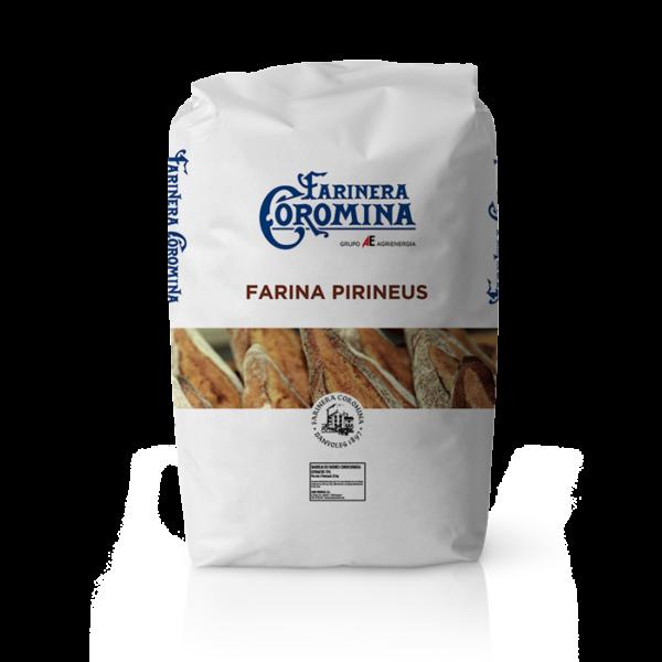 Farinera Coromina, farines de la gamma Can Trull, farina Pirineus
