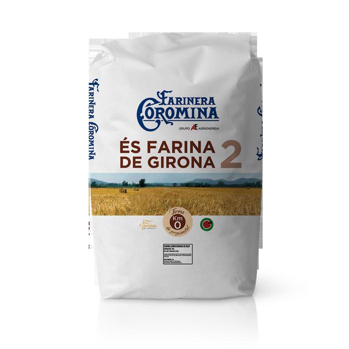 Farinera Coromina, farines de la gamma locals, farina de Girona 2