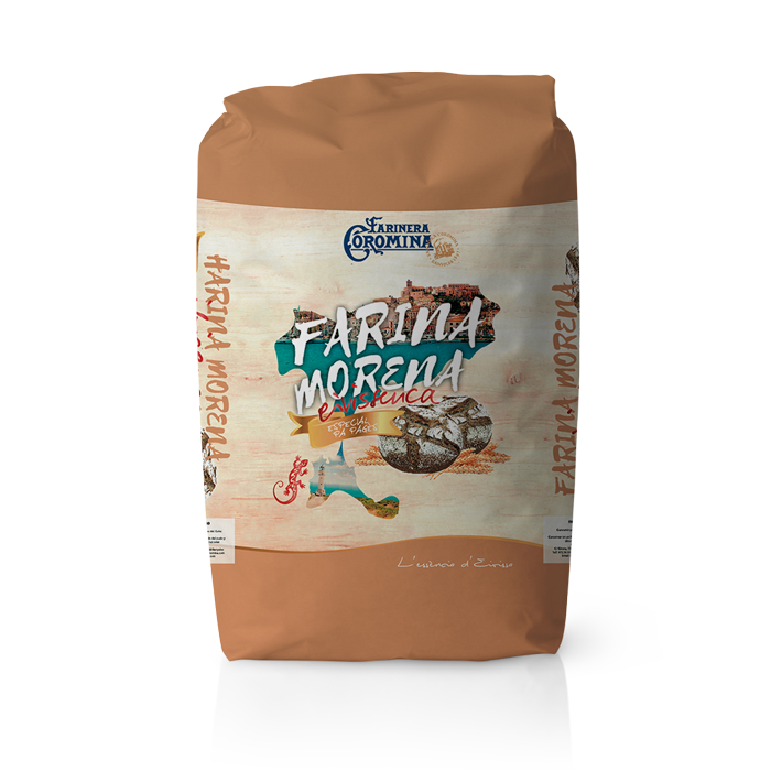 Farinera Coromina, farines de la gamma locals, farina morena eivissenca especial pa de pagès