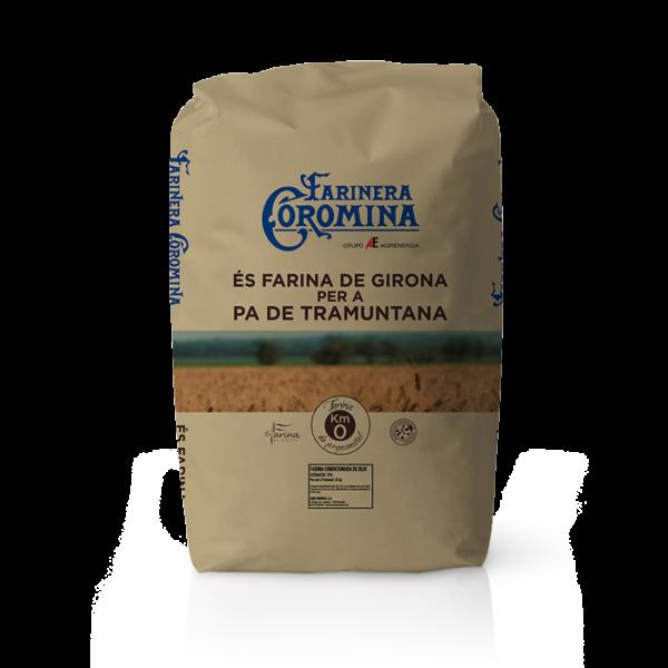 Farinera Coromina, farines de la gamma locals, farina de Girona per a pa de Tramuntana