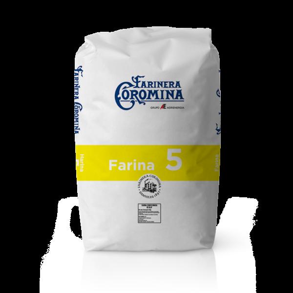 Farinera Coromina, farines de la gamma farines panificables, farina 5