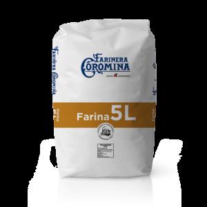 Farinera Coromina, farines de la gamma farines panificables, farina 5L