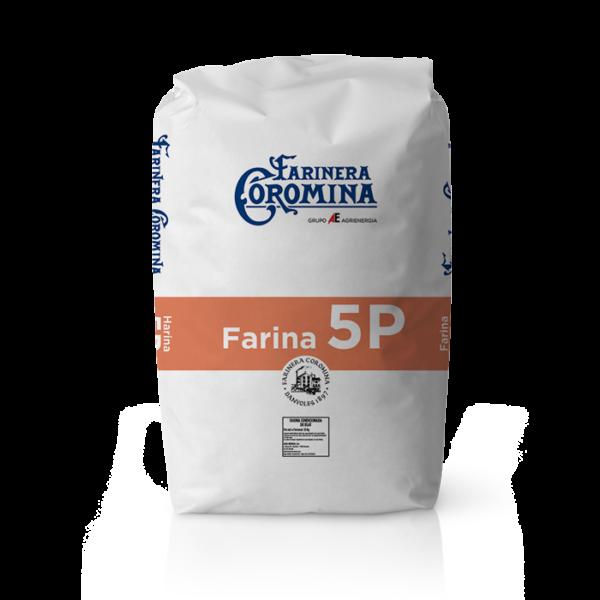 Farinera Coromina, farines de la gamma farines panificables, farina 5P