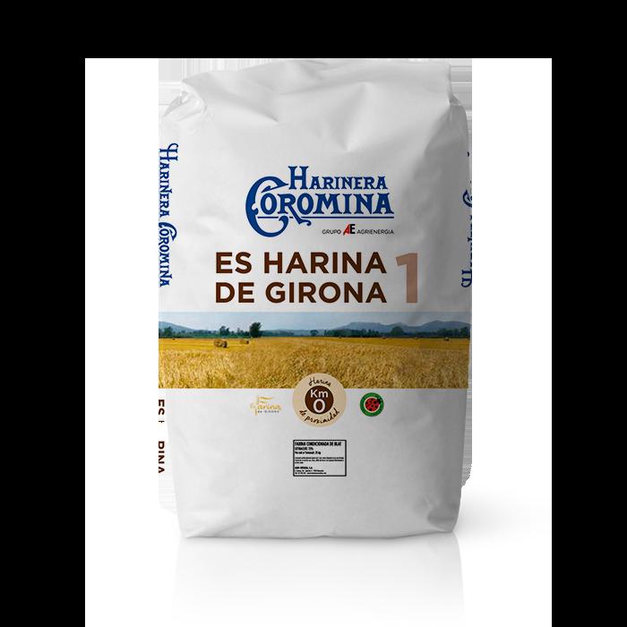 Harinera Coromina, harinas de la gama locales, es harina de Girona 1