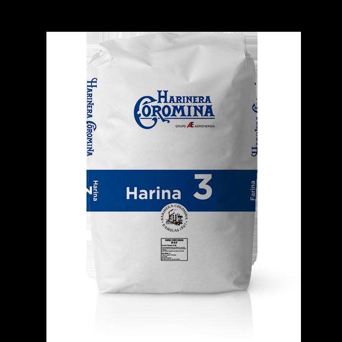 Harinera Coromina, harinas de la gama harina de media fuerza, harina 3
