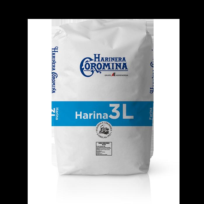 Harinera Coromina, harinas de la gama harina de media fuerza, harina 3L