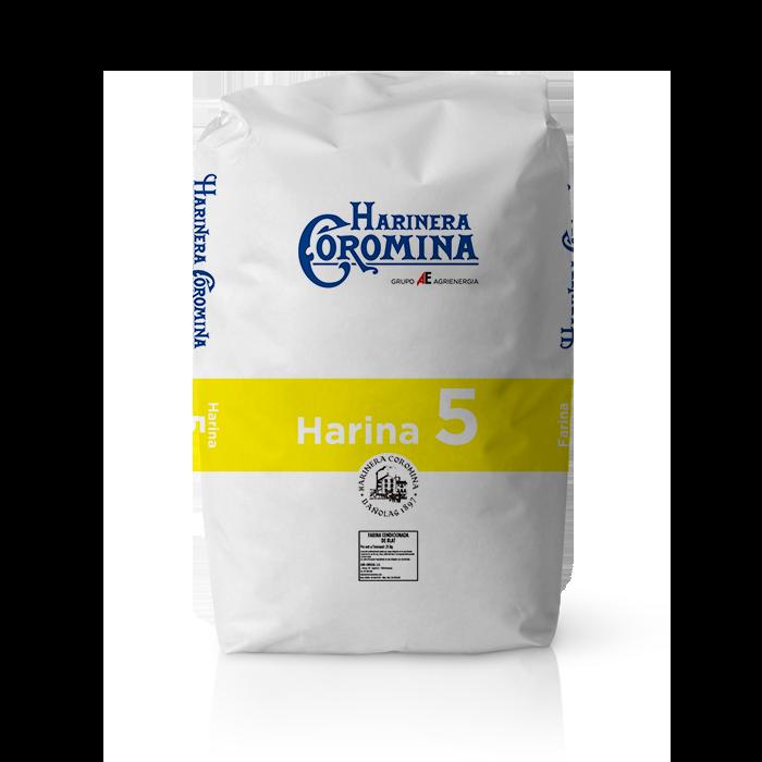 Harinera Coromina, harinas de la gama harina panificable, harina 5
