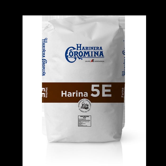 Harinera Coromina, harinas de la gama harina panificable, harina 5E
