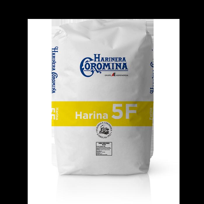 Harinera Coromina, harinas de la gama harina panificable, harinas 5F