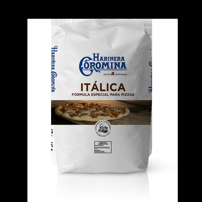 Farinera Coromina, farines de la gamma Can Trull, farina Itàlica per pizza