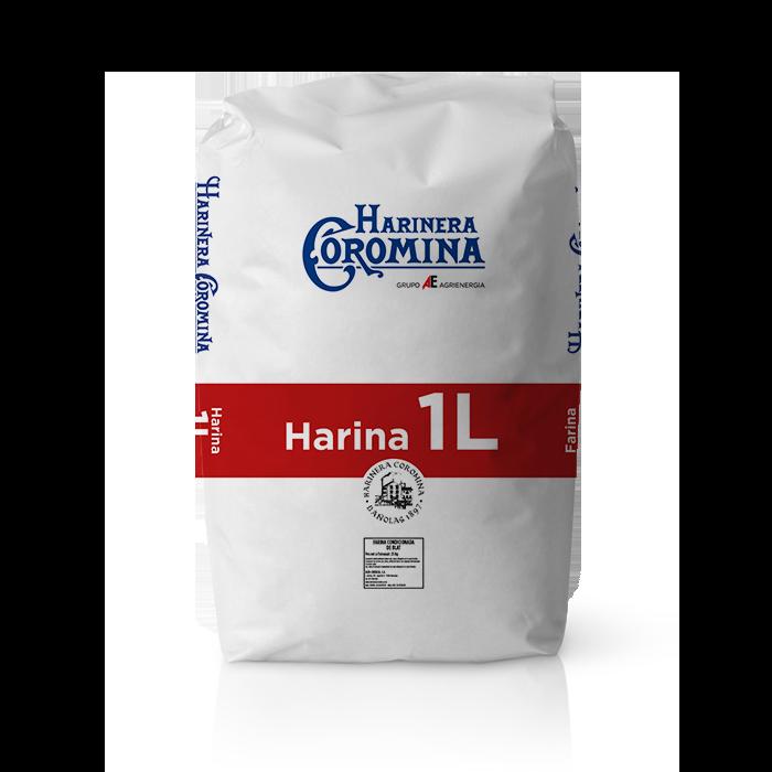 Harinera Coromina, harinas de la gama harina de gran fuerza, harina 1L