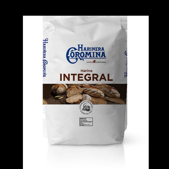 Farinera Coromina, farines de la gamma farines integrals, farina integral 100%