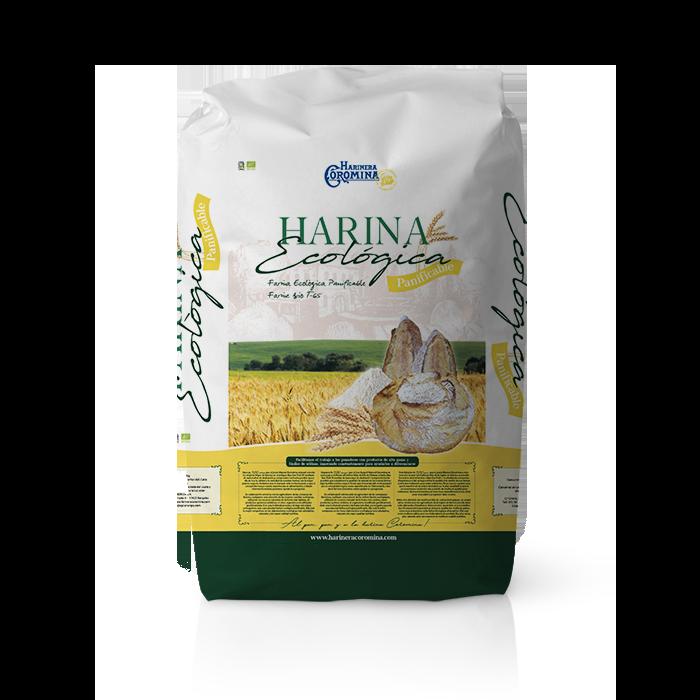 Farinera Coromina, farines ecològiques, farina ecològica Panificable