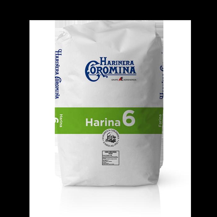 Harinera Coromina, harinas de la gama harina floja, harina 6