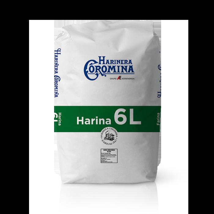 Harinera Coromina, harinas de la gama harina floja, harina 6L